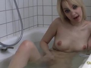 Lisa hitraya enjoys a nice warm bath